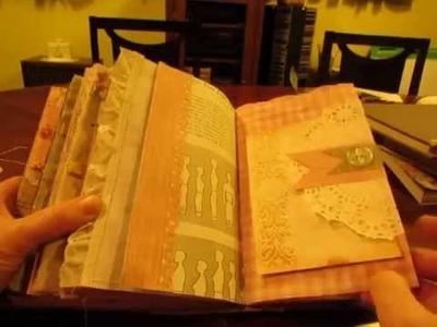 Vintage Sewing Junk Journal for a swap on JJJ- part 2
