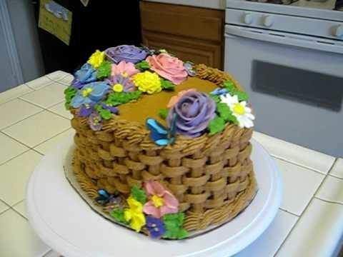 WIlton Course 2 Basket Weave Cake