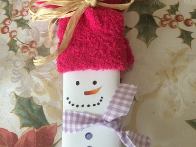 25 Days of Christmas Crafts Day #8 | Dollar Tree snowmen