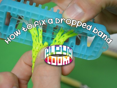 Alpha Loom™ Tips and Tricks: how to fix a dropped band