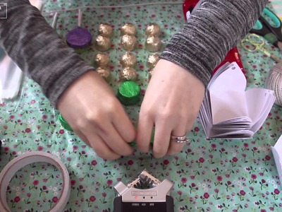 ASMR. Christmas Craft - Vegan Advent Calendar. Crinkles, Paper, Plastic
