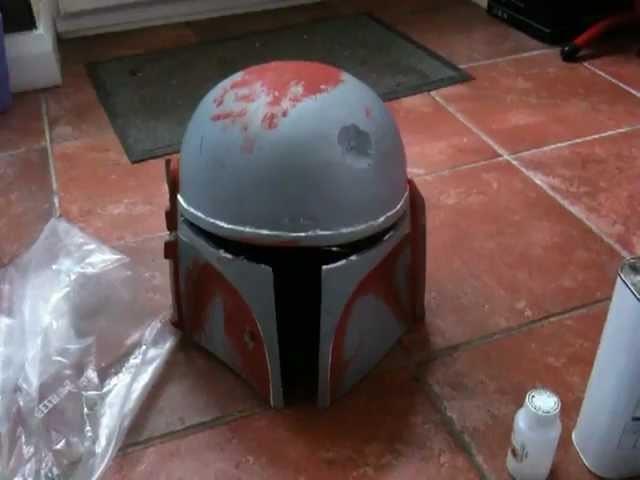 Boba fett and iron man helmet beginning part 1