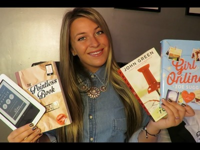 BOOK REVIEWS! | Girl Online, Paper Towns, and more!