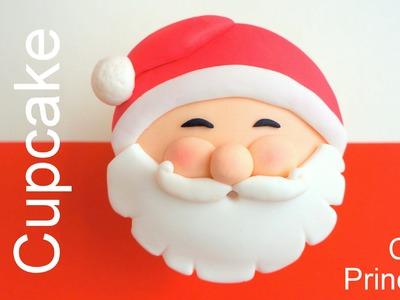 Christmas Cupcakes - How to Make Santa Claus Cupcake by Pink Cake Princess