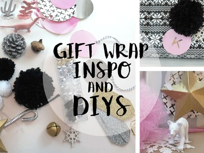 Christmas Gift Wrapping Ideas + DIYS 2015