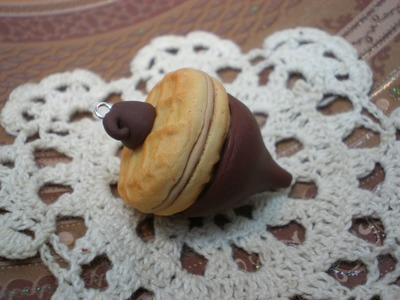 Clay Tutorial: Acorn Candy Cookie