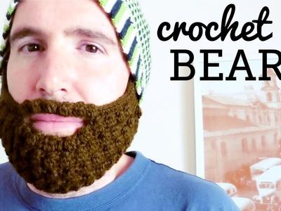 Crochet Beard Tutorial (all hats, all sizes)