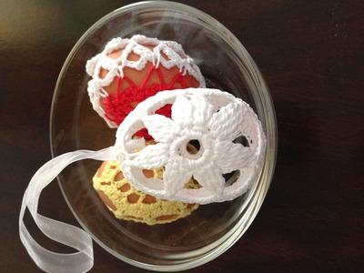 Crochet easter egg motif 2