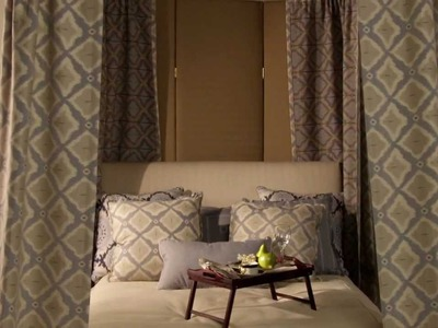 Decorating Ideas: How to create a Dramatic Bed