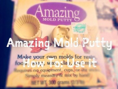 DIY Amazing Mold Putty | How To Tutorial