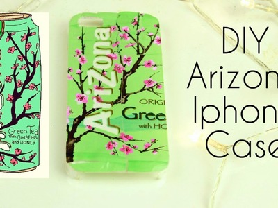 DIY Arizona tea Iphone case ~ Tumblr Inspired