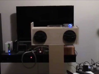 DIY Boombox - Sony Car Speakers + Lepai LP-2020A+