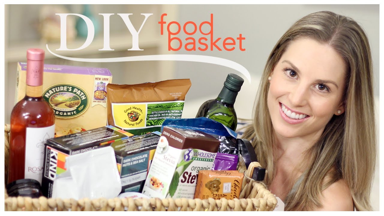 DIY Food Basket (Birthday Gift)