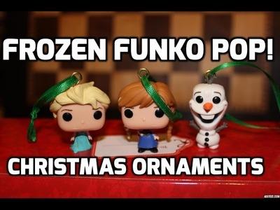 DIY Frozen Funko Pop! Christmas Ornaments