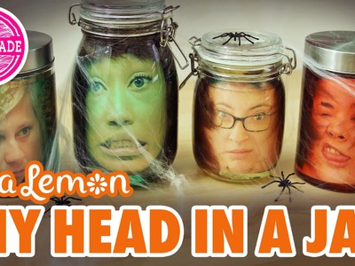 DIY Head in a Jar with Sea Lemon - HGTV Handmade