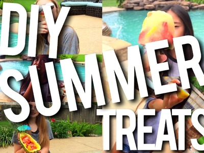 DIY Healthy Summer Treats!
