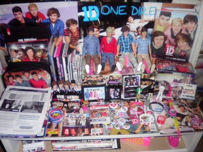 DIY One Direction Shelf!