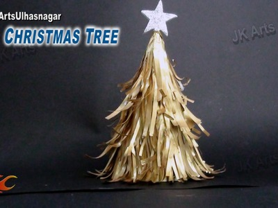 DIY Paper Christmas Tree | How to make | JK Arts 791
