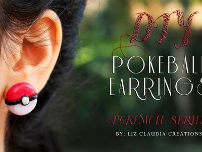 DIY Pokeball Earrings || Pokémon || Polymer Clay