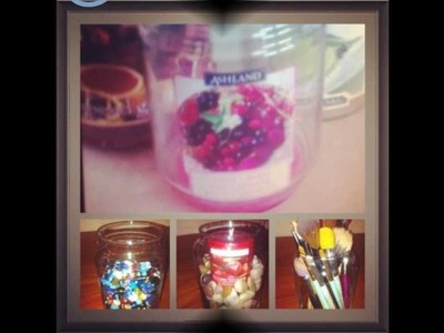 DIY Recycle and Reuse Candle Jars