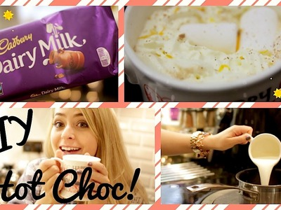 DIY: Spiced Orange Hot Chocolate!