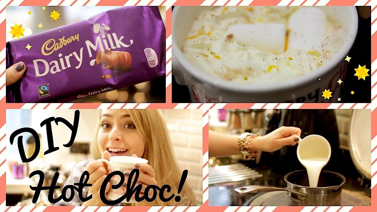 DIY: Spiced Orange Hot Chocolate!