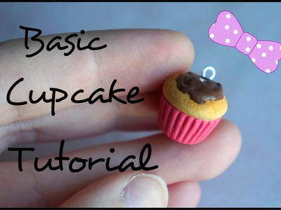 Easy Polymer Clay Cupcake Tutorial Kawaii
