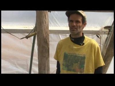 How to Build Hoop Houses : Plastic Hoop House Skins