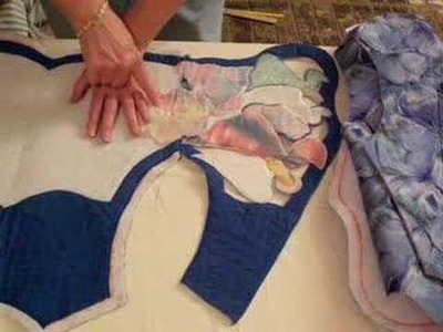 How to create and sew a cutwork vest