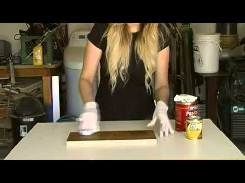 How to Get an Even Finish When Staining Pine