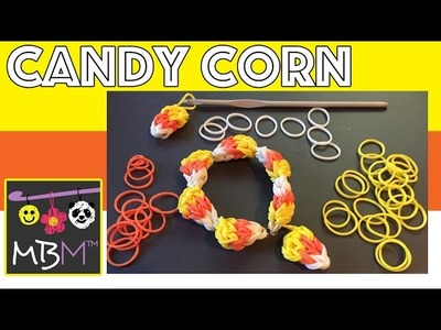 How to Make a Candy Corn Charm Without a Rainbow Loom