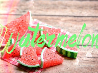 How to Make a Doll Watermelon - Doll Crafts