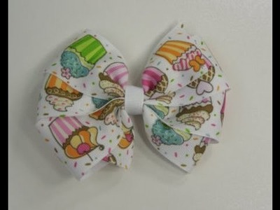 How To Make A Flat Boutique Hair Bow