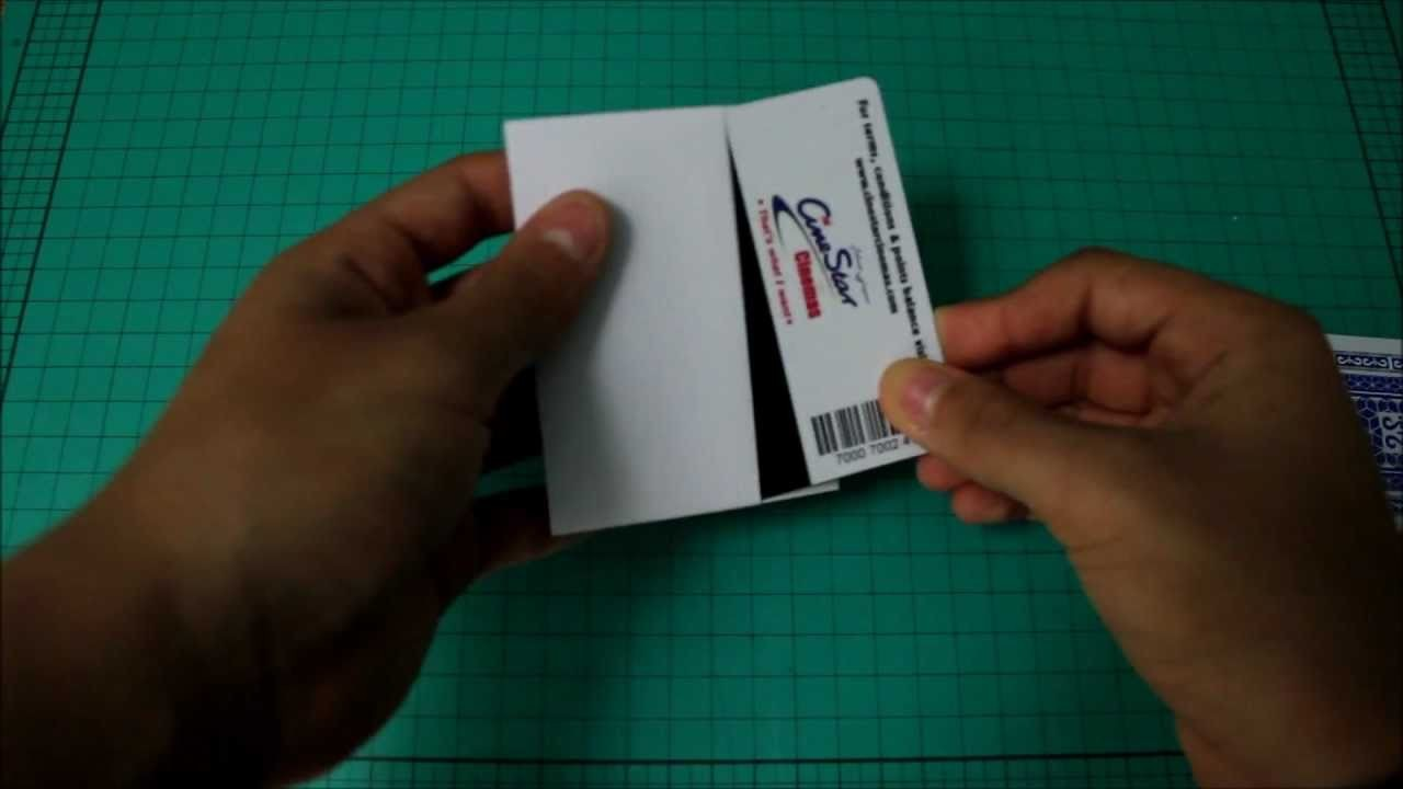 How to make a Paper Mini wallet.Credit card Holder