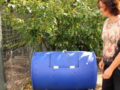 How to make your own compost tumbler
