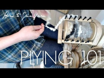 How to Ply Yarn with Thread for Beginners