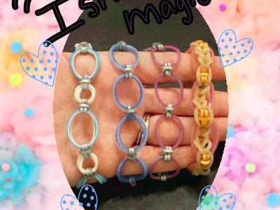 """""""Ishani Magic"""" Rainbow Loom Bracelet.How To Tutorial"""