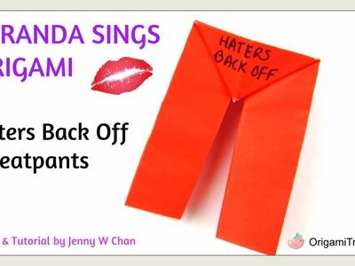Miranda Sings Origami Sweatpants - Selp-Helf (Self-Help) by Miranda Sings Book Crafts - Paper Crafts