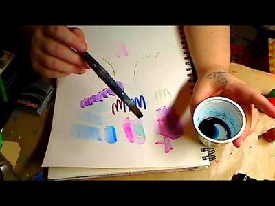 Mondays Ustream Live-How to make molds with caulk-making wat