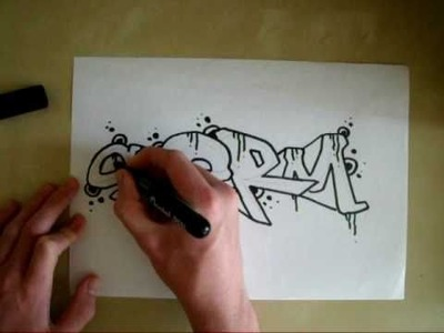 NEW * Graffiti Tutorial * Simple Sketch