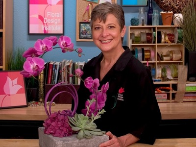 Orchid Paradise, a lesson in contemporary design