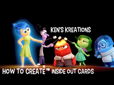 Pixar Inside Out Cards - Christmas in July #Cards4Love