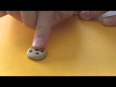 Polymer clay cookie tutorial