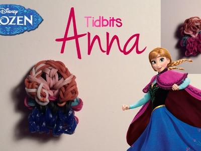 Rainbow Loom Anna Charm | Frozen [Tidbits Series]