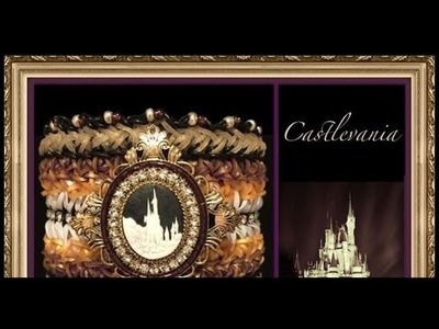 Rainbow Loom Band Castlevania Bracelet Tutorial.How To
