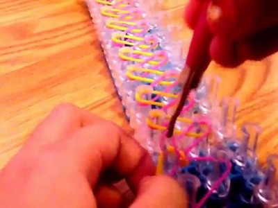 Rainbow Loom Bookmarks (beginners)