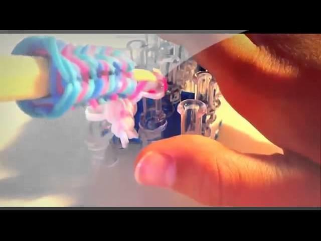 RainBow Loom Netherlands Rainbow loom Nederlands, friendship circle bracelet, armband   DUTCH HD 201
