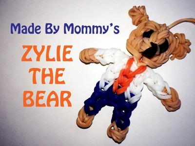 Rainbow Loom Teddy Bear Charm -- Zylie the Bear!