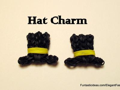 Rainbow Loom Top Hat charm emoji.emoticon - How to