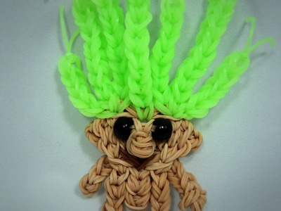 Rainbow Loom Troll Doll.Action Figure Tutorial (extended)